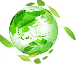 目的イメージ;地球と植物